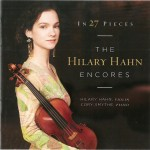 ヒラリー・ハーン2016年来日コンサート!グラミー賞受賞CDの名盤『27の小品』 ヒラリー・ハーン・アンコール